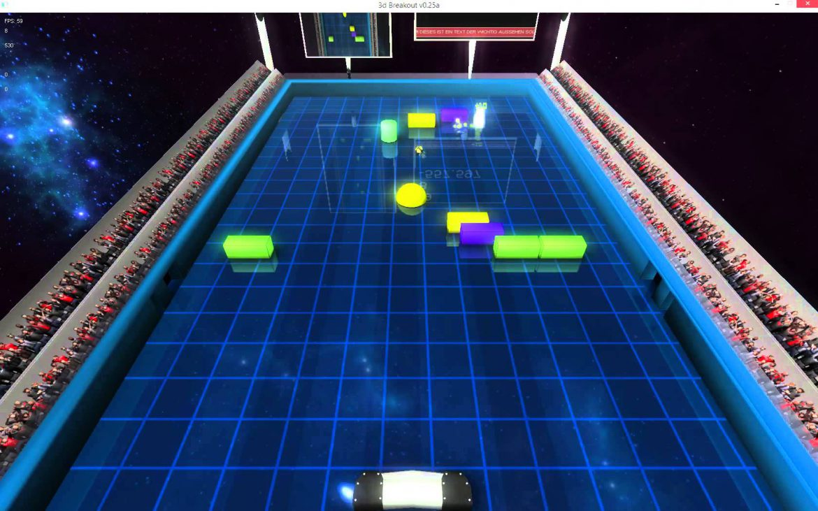 3d arkanoid dogecandy for 3d walkthrough