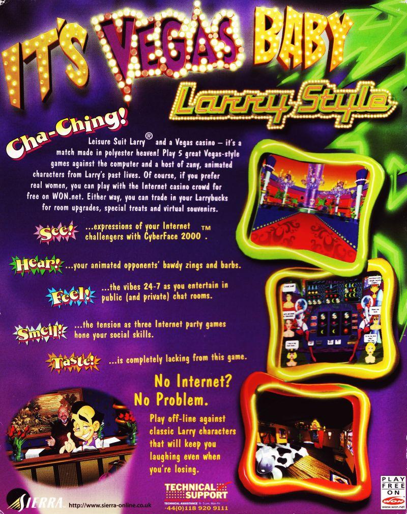 leisure suit larry casino walkthrough