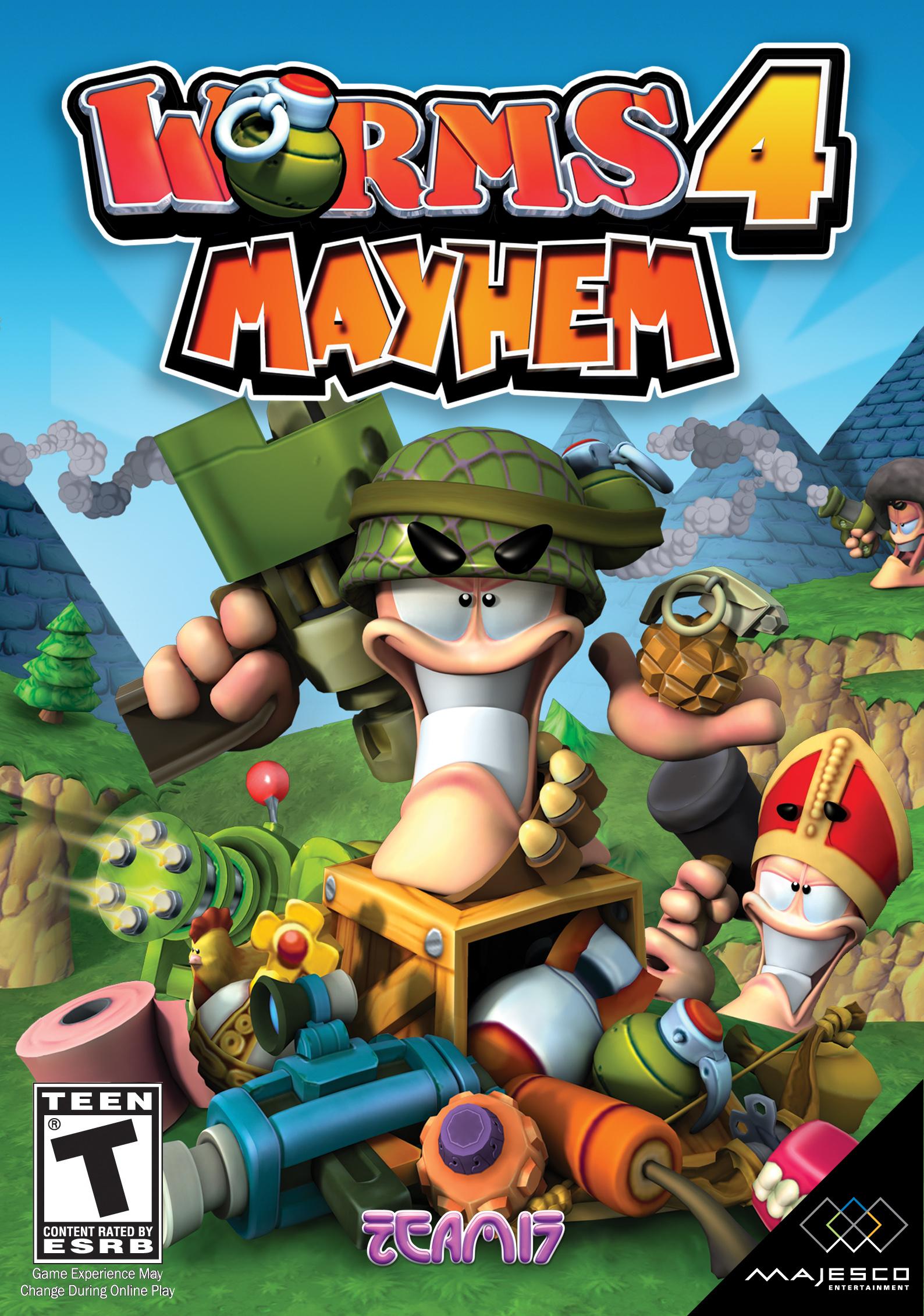 Worms mayhem скачать торрент 2005 для пк